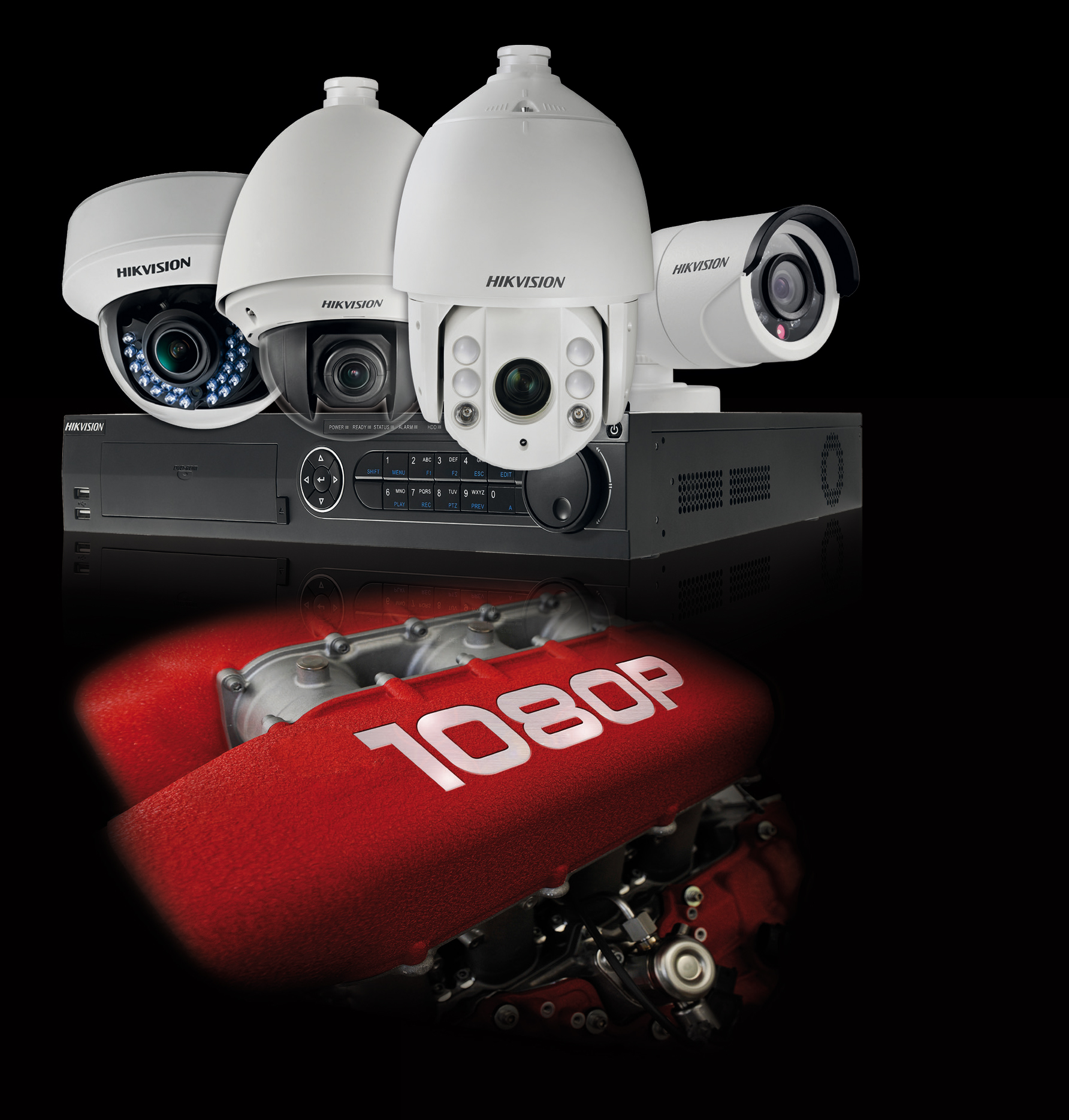 HIKVISION Turbo-HD Tribrid-Systeme